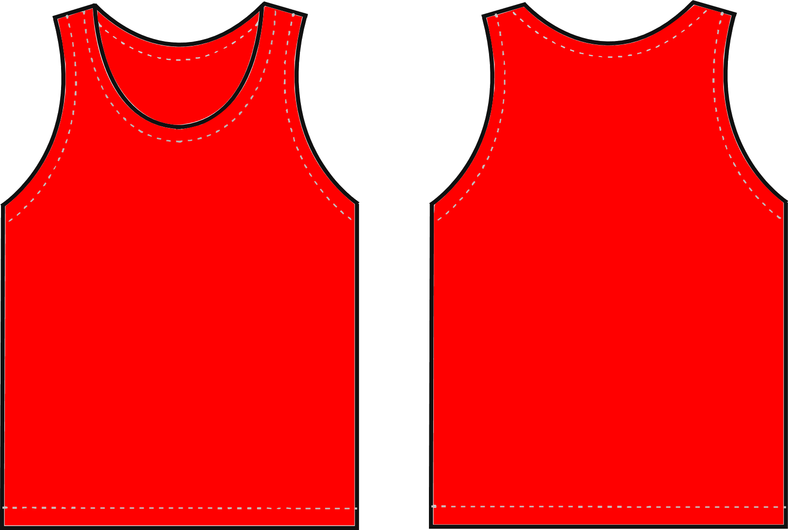 Make a running vest for your On Your Marks! tournament.